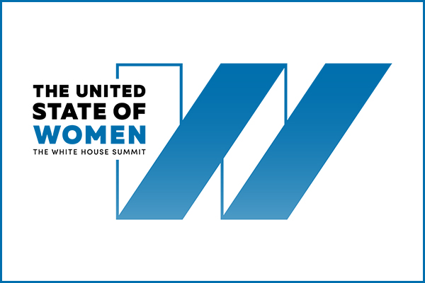 Logo for the United States of Women Summit